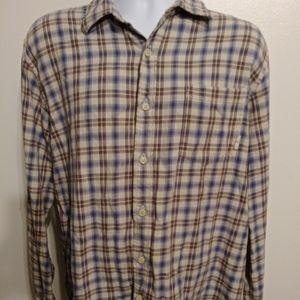 Timberland flannel shirt size XXL